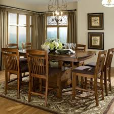 dining table set with storage homelegance marcel 9 piece counter dining room set w storage base