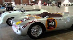 Porsche 1954 Mille Miglia 2011 Part 11 1954 Porsche 550 Spyder Youtube