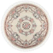 surya candice olson ivory 8 ft x 8 ft round area rug scu7511 8rd