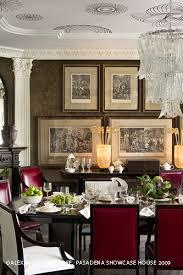 Dining Room Showcase The Pasadena Showcase House Of Design Began As A Fundraiser In