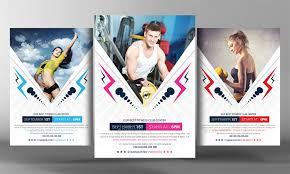 fitness flyer template 2 fitness flyer template by graphicforestnet graphicriver