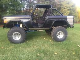 ford jeep modified modified 1973 ford bronco offroad for sale