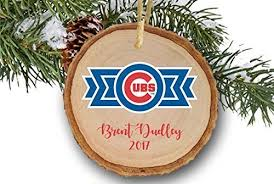 personalized chicago cubs ornament chicago
