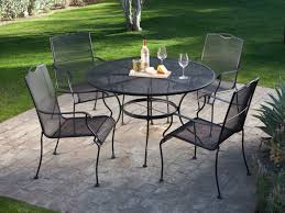 coffee table wrought iron patio dining table best round dining