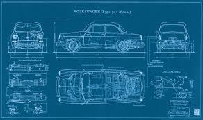 blue print size type notchback blueprint vw pinterest change idolza