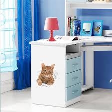 Bathroom Door Stickers Online Shop 3d Effect Cats Toilet Switch Toilet Door Stickers