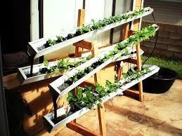 Building A Backyard Garden by Diy Aquaponics How To Build A Self Watering Rain Gutter Garden