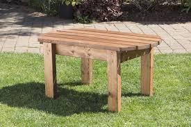 Garden Coffee Table Uk Handmade Fully Assembled Heavy Duty Wooden Garden Coffee Side
