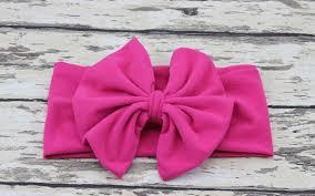 headband baby murah aliexpress buy new girl cotton headwrap floppy big bow