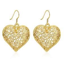 saudi arabia gold earrings saudi gold jewelry fashion design hanging earrings women hollow
