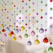 Arthouse Room Divider Luxury Color Crystal Glass Beads Custom Made Window Door Curtain