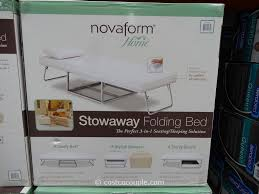 Folding Bed Ottoman Novaform Stowaway Folding Bed