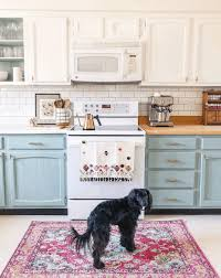duck egg blue kitchen cabinet paint 15 colorful kitchen ideas that you ll wanna copy kate