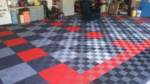 Garage Floor Snow Containment by Garage Mats Gray Rubber Garage Floor Mats Under White Car And