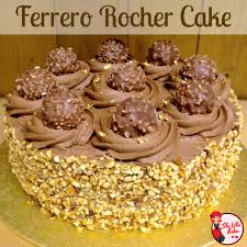 ferrero rocher cake she who bakes