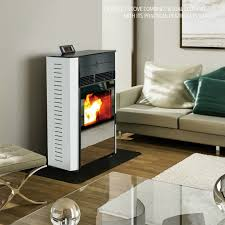 china best selling two door design wood pellet stove china