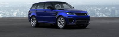 blue range rover vogue range rover sport colours guide carwow