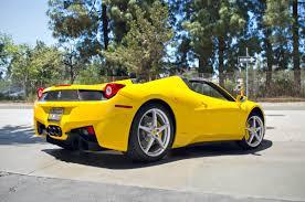 Ferrari 458 Italia Spider - 2014 ferrari 458 speciale convertible for sale in fort lauderdale
