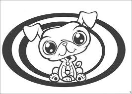 littlest pet shop coloring pages kids free coloring pages