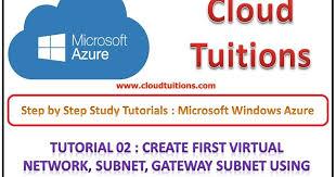 subnetting tutorial for beginners create virtual network gateway subnet microsoft azure training