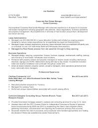 corporate resume exles entry level real estate resume sle template