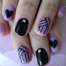 Light Purple Nail Designs Nail Designs Dark Purple Beautify Themselves With Sweet Nails