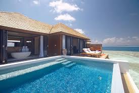 Exotic Beach Houses Lily Beach Resort U0026 Spa In Maldives Architecture U0026 Design