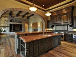 wide open floor plans tuscan kitchen i want this concept flow into the living room is