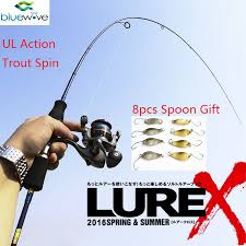light action spinning rod 1 80m utral light action spinning rod lure weight 2 6g fishing