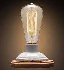vintage ceramic lamp edison desk lamp 40w personality decoration