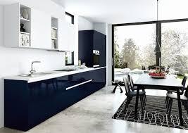 cuisine bleue et blanche cuisine bleue et blanche déco cuisine bleu fonce 74 angers cuisine
