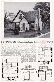 era house plans 1940 kit homes catalog the hamilton wwii era house and