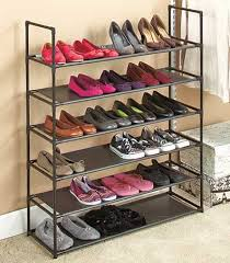 Shoe Rack by 6 Tier Stackable Shoe Rack Ltd Commodities