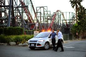 Six Flags Magic Mountain Fire Passengers Stuck On Six Flags Magic Mountain Roller Coaster Time