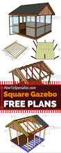 Small Gazebos For Patios by Best 25 Diy Gazebo Ideas On Pinterest Outdoor Pergola Pergola