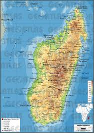 Madagascar On World Map by Geoatlas Countries Madagascar Map City Illustrator Fully