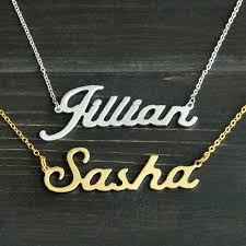 cheap name necklaces cheap necklace photo pendant buy quality pendant bail directly