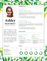 Creative Resume Template Free Fresh And Floral Free Resume Template Modern U0026 Creative Resume