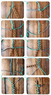 diy necklace chains images 11 ways to make diy chain statement necklaces with chains pretty jpg