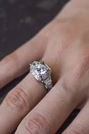 pre owned engagement rings illusion set diamond engagement ring ring crafts diamonds