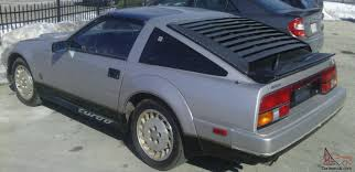 nissan datsun 1984 nissan 300zx turbo 50th anniversary survivor 49 242 original