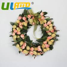 Decorative Flowers For Home by Online Get Cheap Flower Door Wreath Aliexpress Com Alibaba Group
