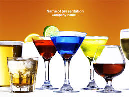 strong drinks powerpoint template backgrounds 04199