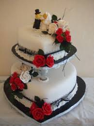 Heart Wedding Cake Traditional Wedding Cakes Cakes For All Occassions