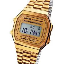 casio a168 vintage retro gold digital a168wg a168 new 4971850742333 ebay