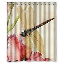 Dragonfly Shower Curtains Beautiful Dragonfly Shower Curtain 60 X 72 Clothing