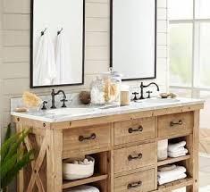 new bathroom farmhouse vanity in weathered oak bathroom vanities