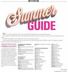 lexus woodford twitter lexington kentucky summer guide 2017 ace weekly
