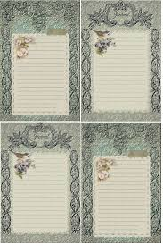journaling templates free 535 best free printables images on pinterest free printables vintage in teal journal cards free download