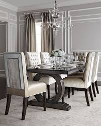 mirrored dining room table remarkable alden trestle dining table tables and house of mirrored
